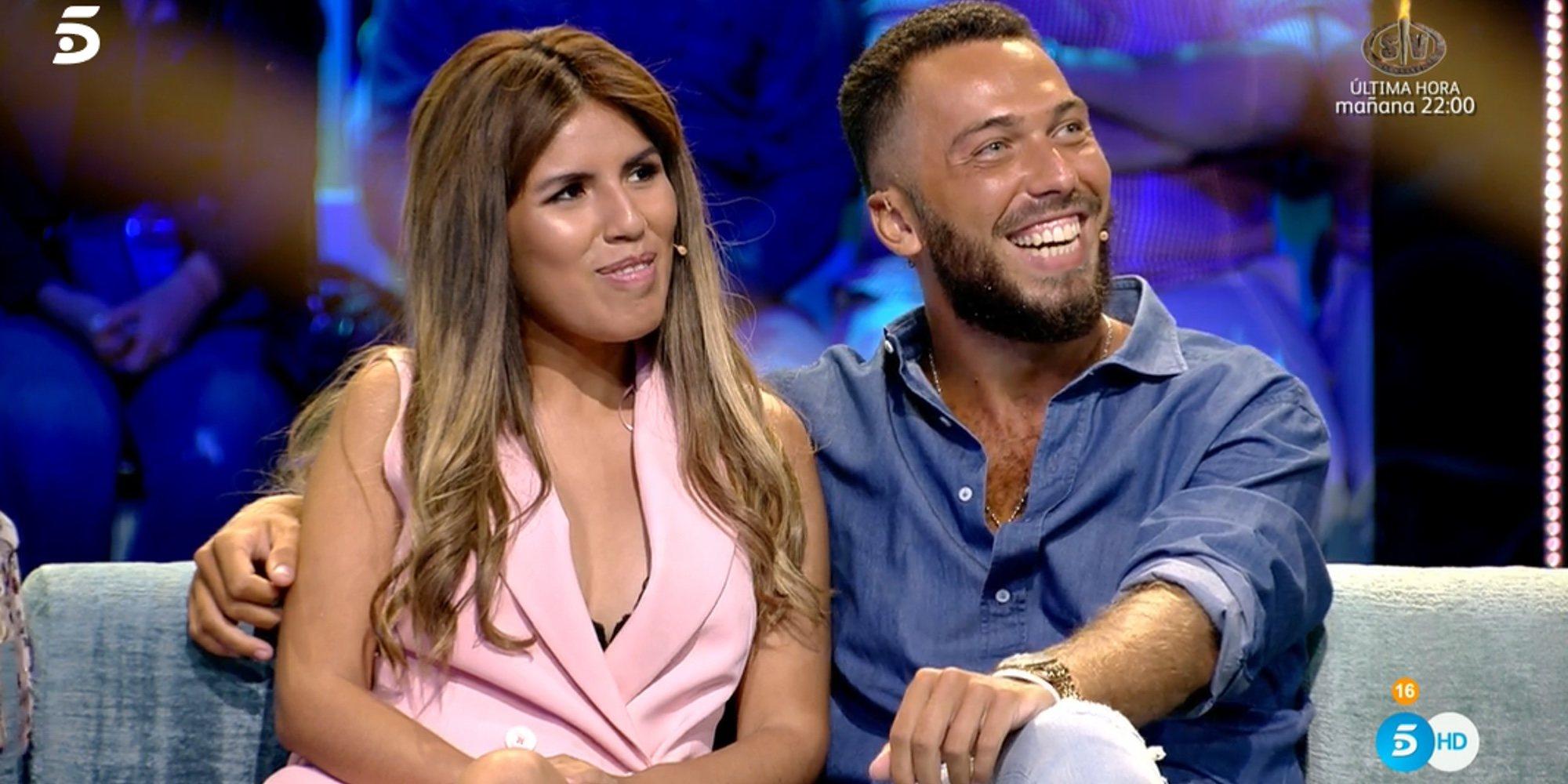 Chabelita Pantoja y Alberto Isla se reconcilian y presumen de complicidad en 'Supervivientes 2018'