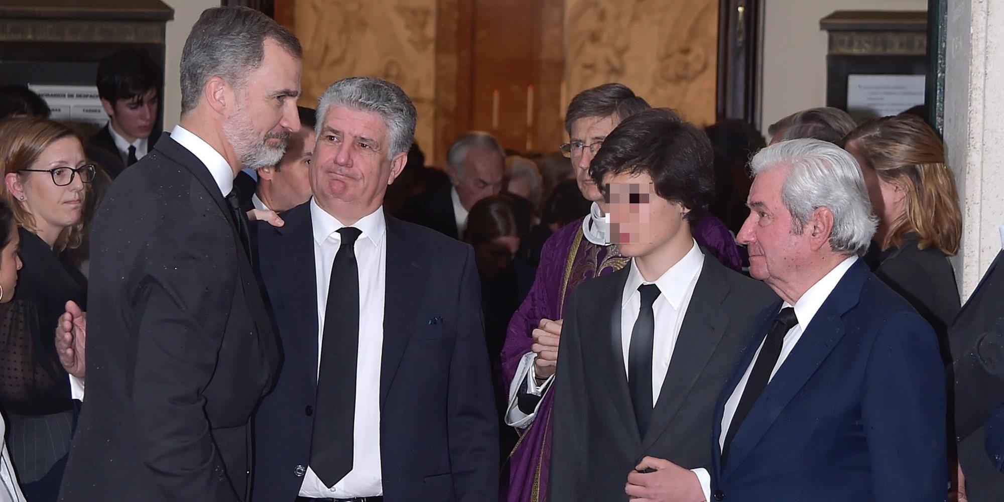 La triste reunión de Borbones por el funeral de Alfonso Moreno de Borbón: Del Rey Felipe a María Zurita