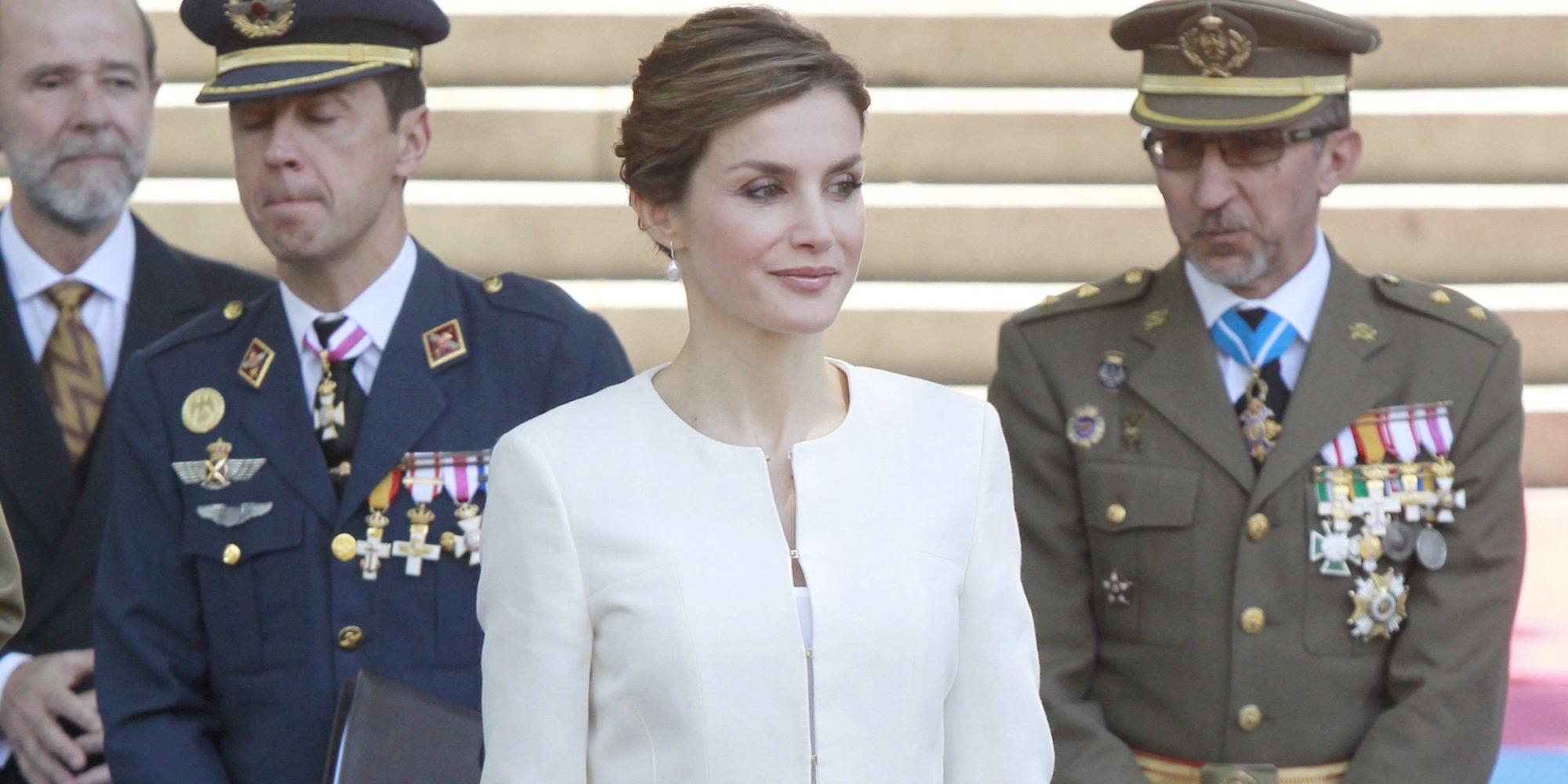 Las Fuerzas Armadas salvan a la Reina Letizia de su reencuentro más incómodo