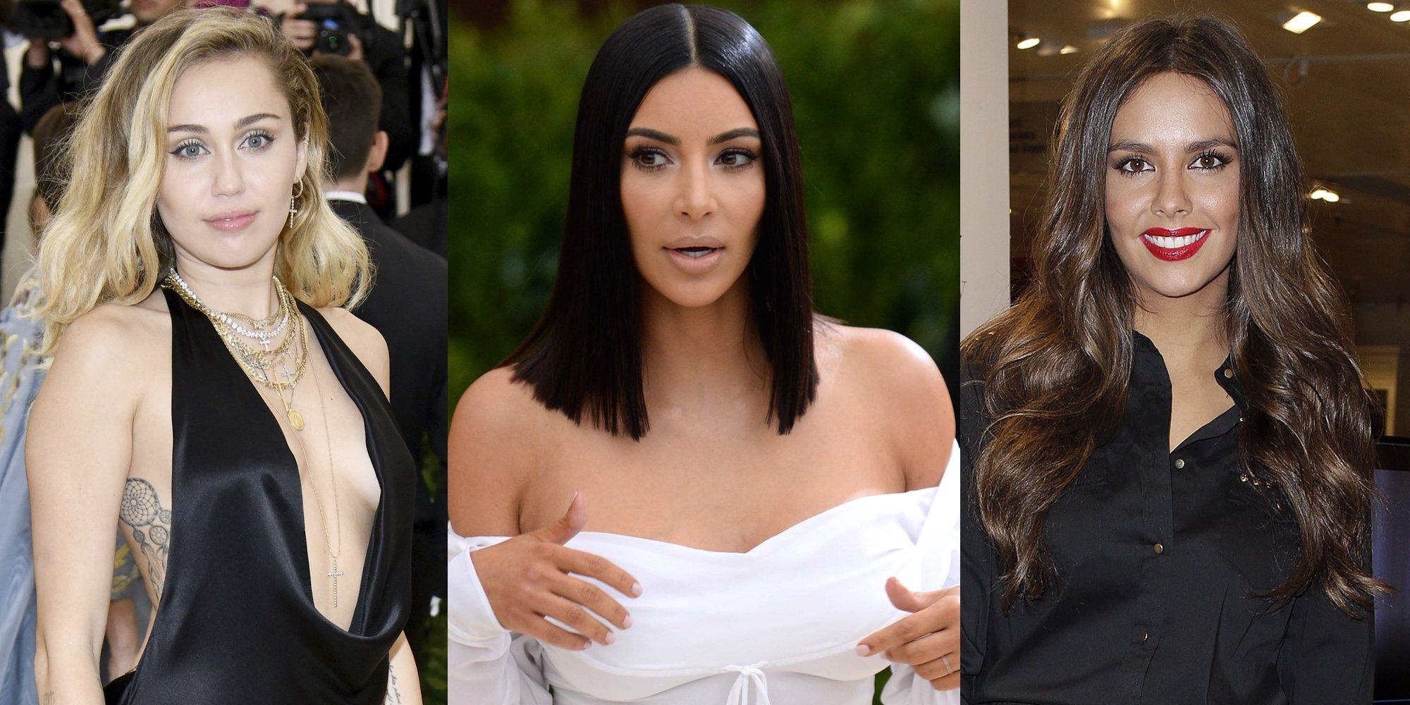 Famosas desnudas: Kim Kardashian, Miley Cyrus, Cristina Pedroche y otras celebrities que se han desnudado voluntariamente