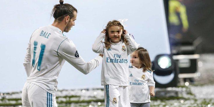 Gareth Bale saca su lado más paternal y divertido durante la celebración de la Champions 2018