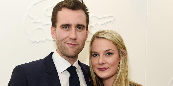 Matthew Lewis se casa en secreto con Angela Jones sin invitar a sus compañeros de 'Harry Potter'
