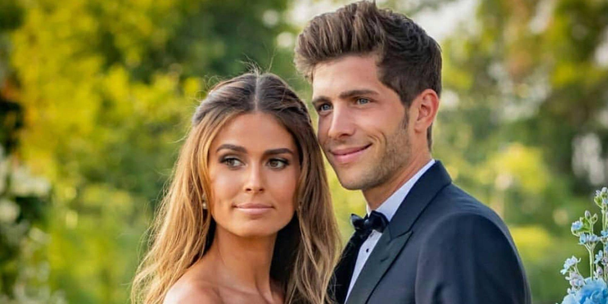 Sergi Roberto y Coral Simanovich se casan en una romántica boda celebrada en Tel Aviv