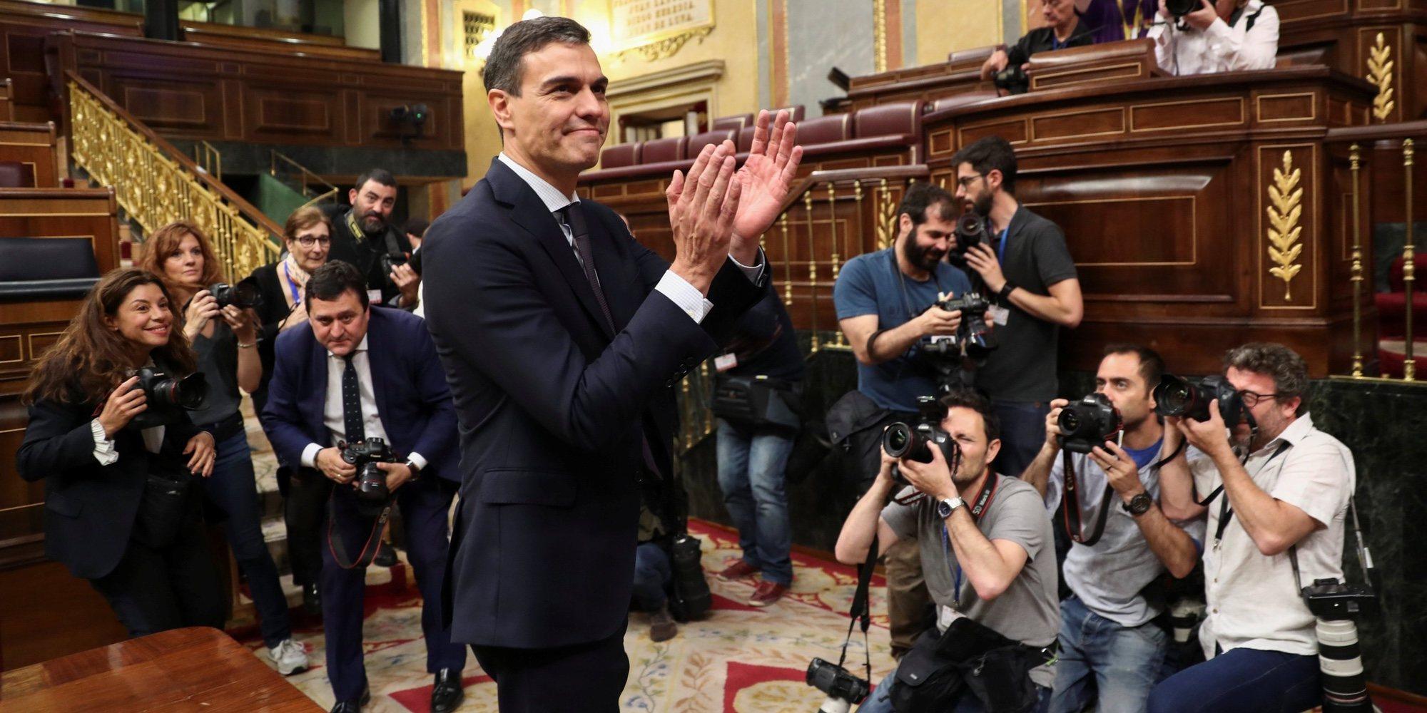 Lo que ha vivido Pedro Sánchez desde su dimisión como secretario general del PSOE hasta su llegada a La Moncloa