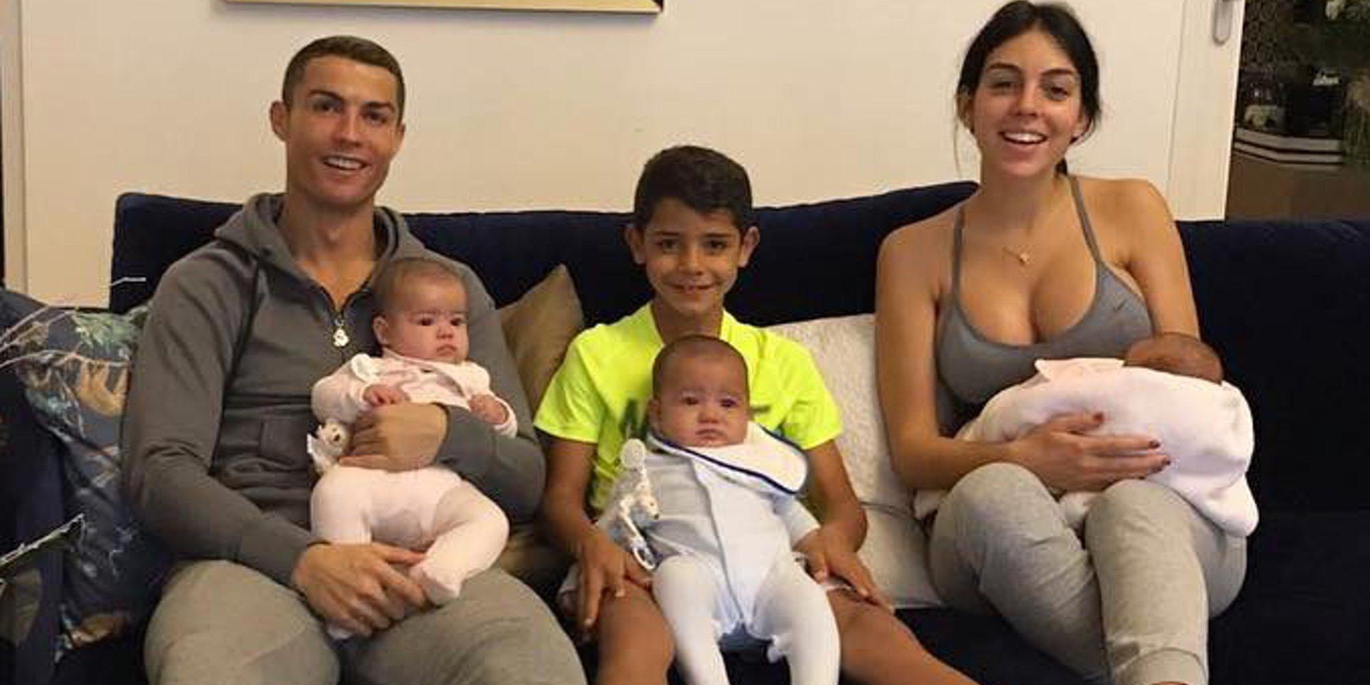 Cristiano Ronaldo celebra el primer cumpleaños de sus mellizos Eva y Mateo en la distancia