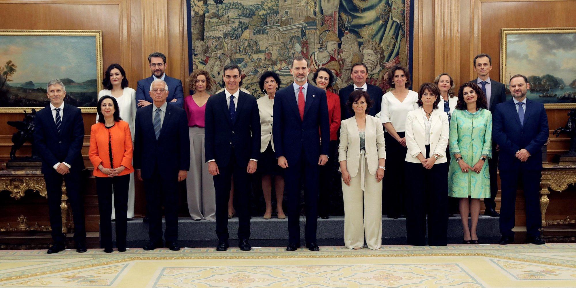 La importancia de que haya 11 mujeres y 2 gais dentro de los 17 Ministros y Ministras del Gobierno de Pedro Sánchez