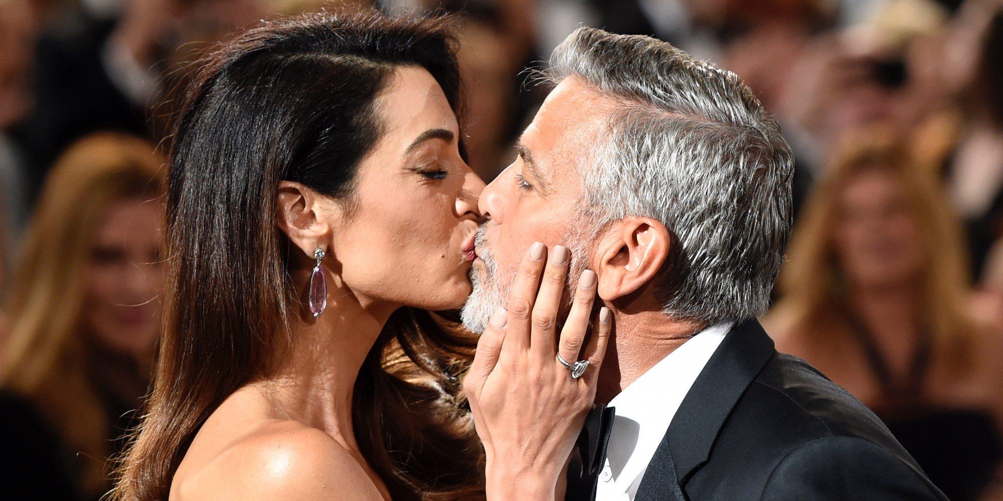 Amal Alamuddin consigue emocionar a George Clooney durante su homenaje en los Premios AFI 2018