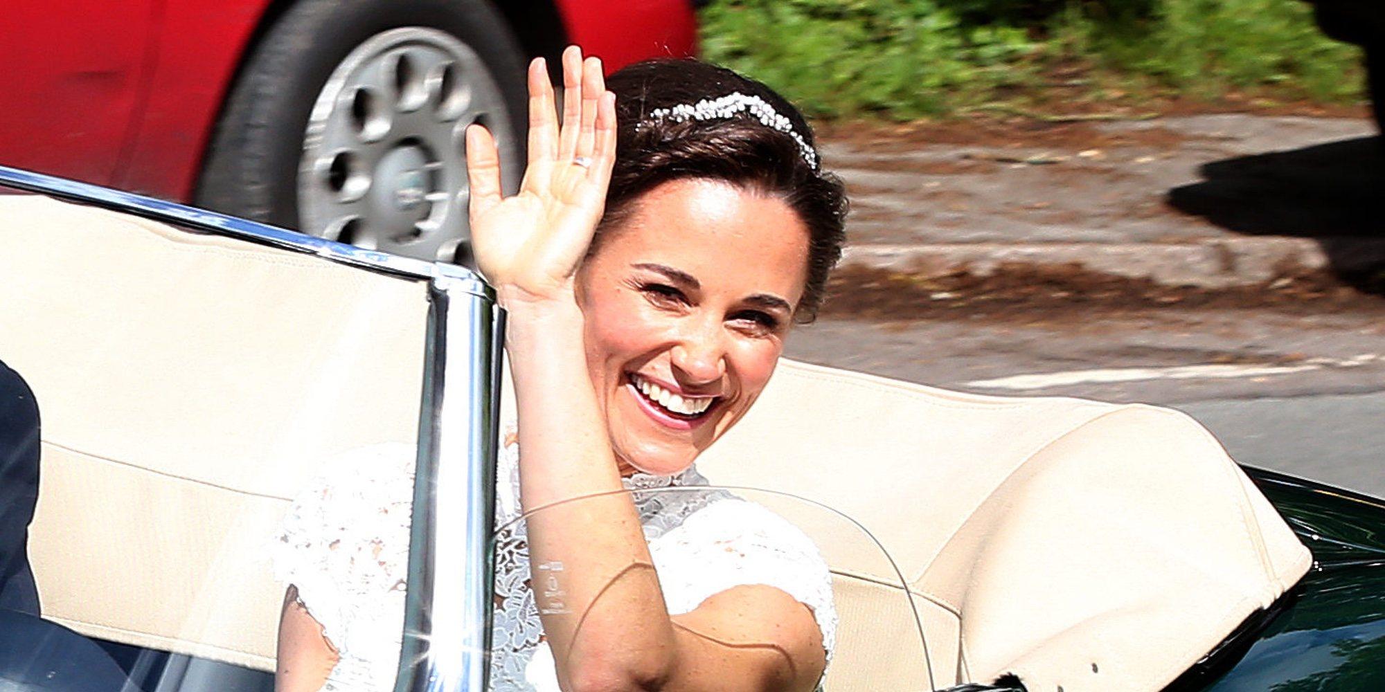 """Pippa Middleton confirma su embarazo: """"He pasado las primeras semanas sin náuseas matutinas"""""""