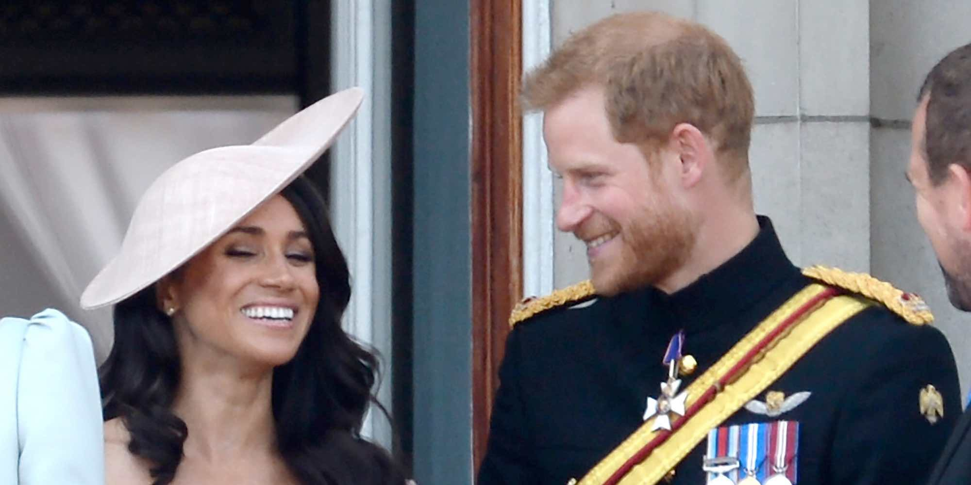 Meghan Markle, en un segundo plano en su primer Trooping The Colour