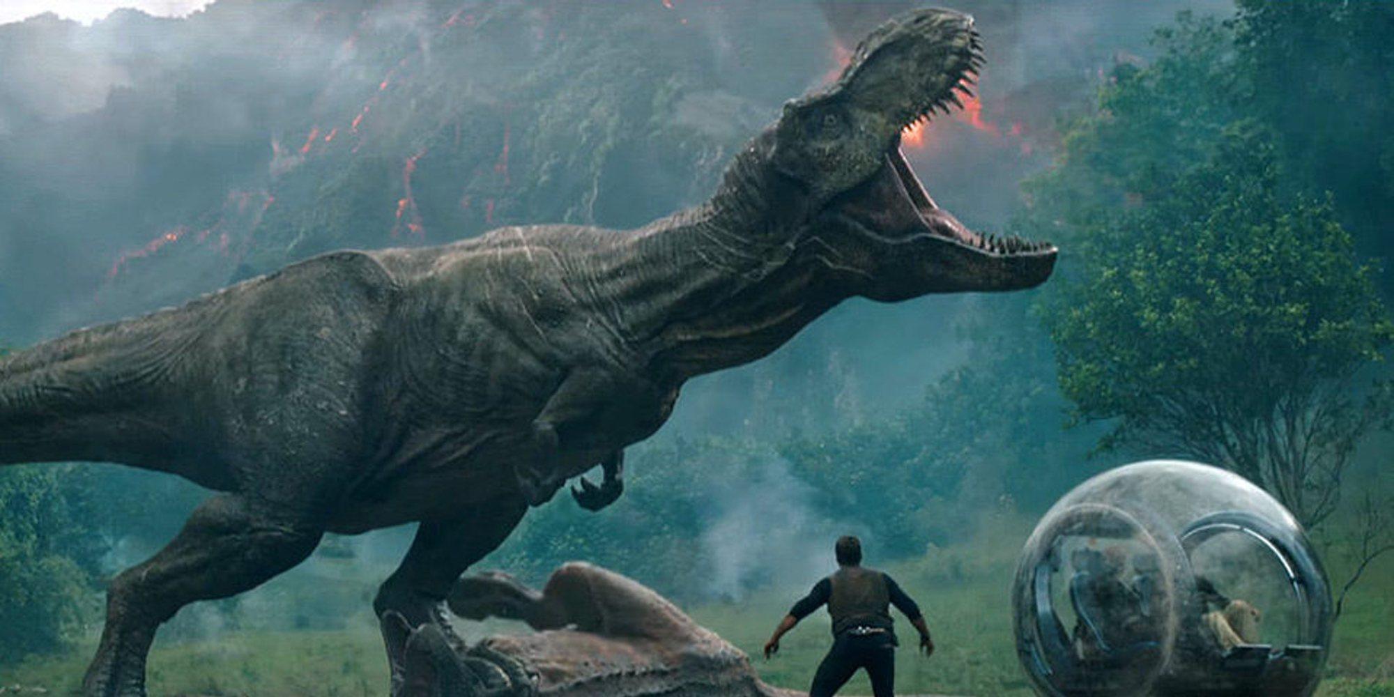 'Jurassic World: El Reino Caído', número 1 en su primer fin de semana en los cines españoles