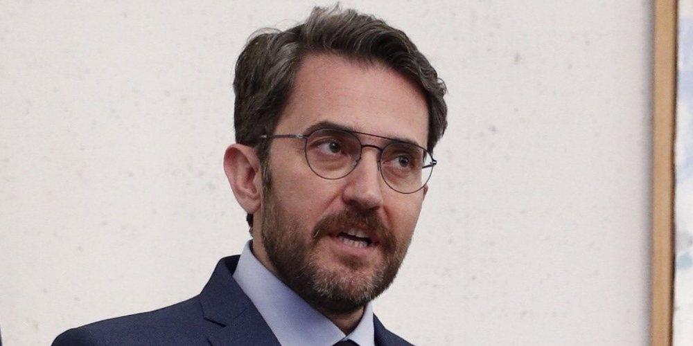 El Ministro Màxim Huerta y Juan Avellaneda estuvieron juntos durante un año y medio