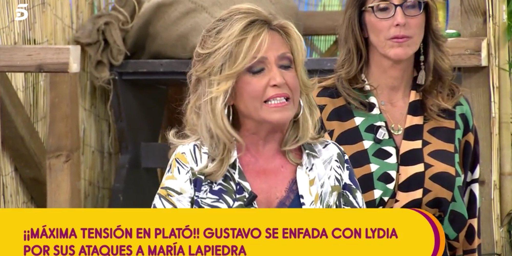 """Lydia Lozano estalla contra Gustavo González: """"No me vuelvas a hablar así en tu vida"""""""
