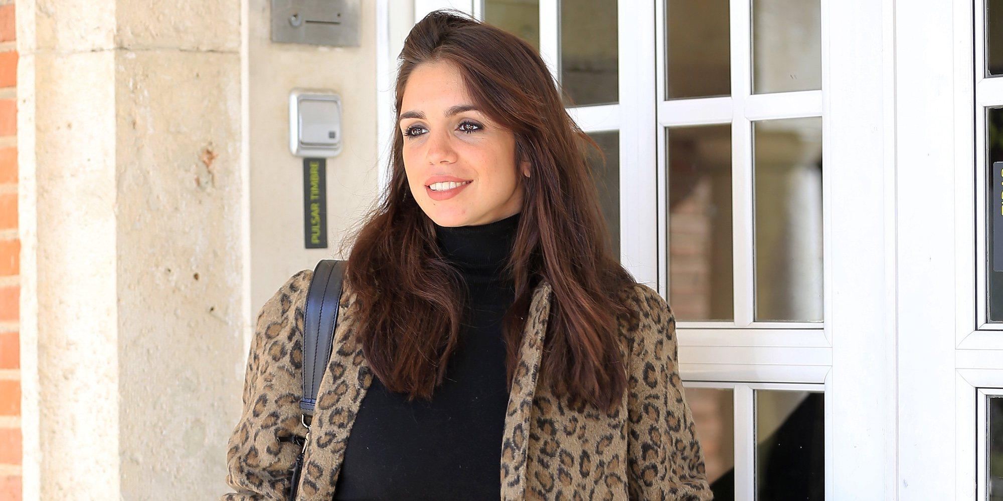 Elena Furiase muestra por primera vez su tripita de embarazada