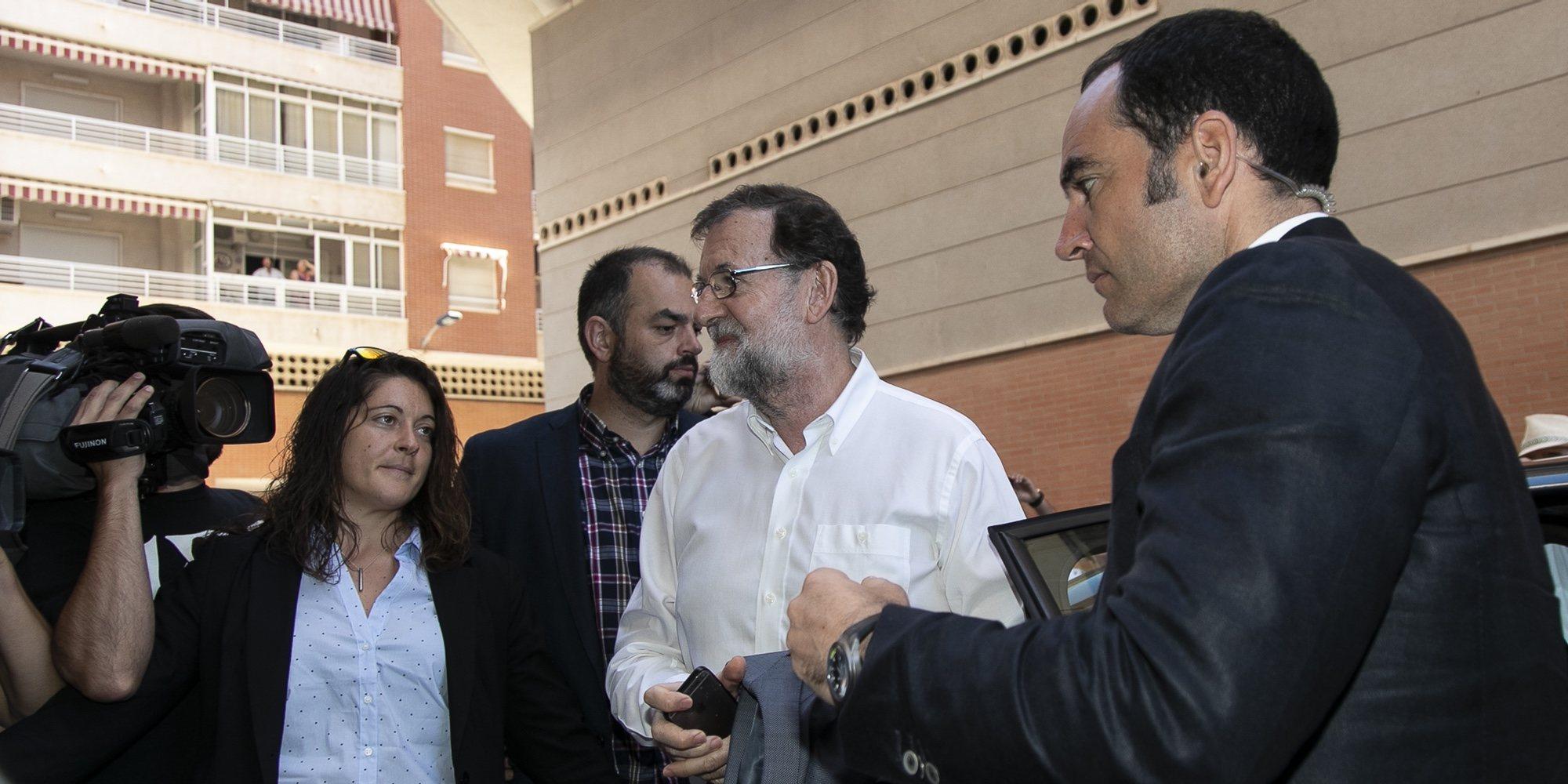 """La nueva vida de Mariano Rajoy como registrador de la propiedad en Santa Pola: """"Vuelvo donde estaba"""""""