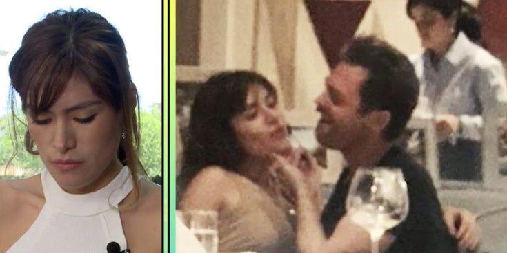"""Miriam Saavedra se besa con Hugo Castejón y Carlos Lozano estalla: """"Eres una cazafamosos"""""""