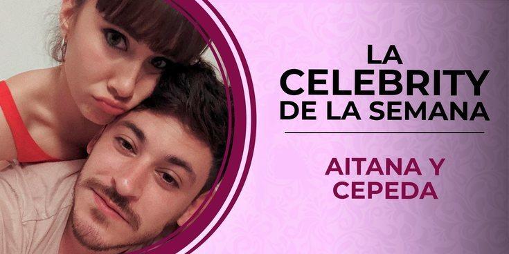 Aitana y Cepeda, celebrities de la semana por la confirmación de su relación