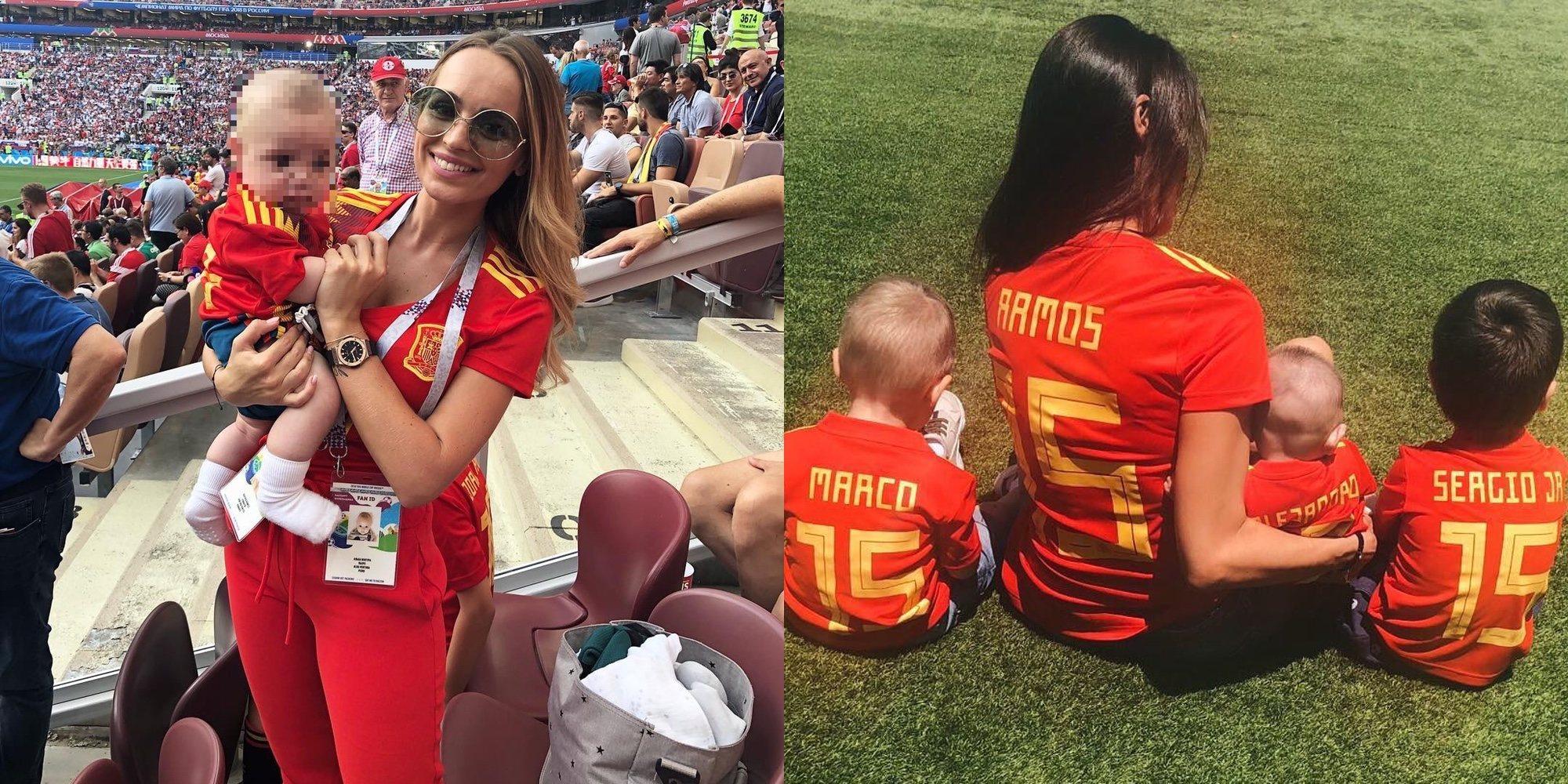Pilar Rubio, Edurne o Romarey Ventura: Así apoyan las WAGs a España en el Mundial de Rusia 2018