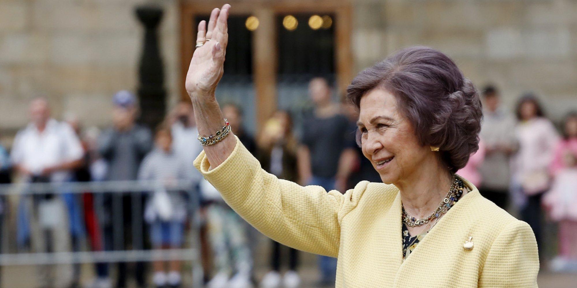 La Reina Sofía, fascinada en su regreso a la agenda oficial tras su viaje a Florencia y la entrada en la cárcel de Urdangarin