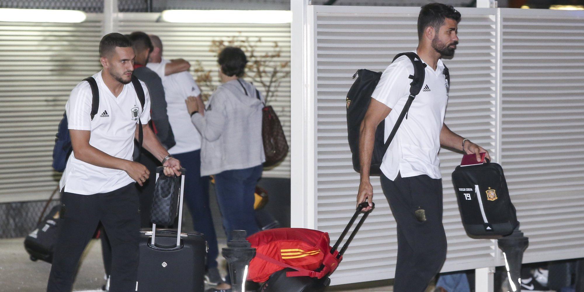 Las caras largas de la Selección Española tras ser eliminada en el Mundial de Rusia