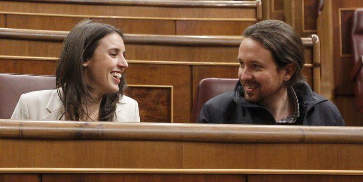 Irene Montero y Pablo Iglesias se convierten en padres de mellizos de forma prematura