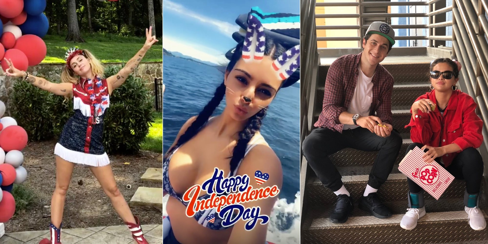 Kim Kardashian, Miley Cyrus, Donald Trump...: así han celebrado las celebs el Día de la Independencia