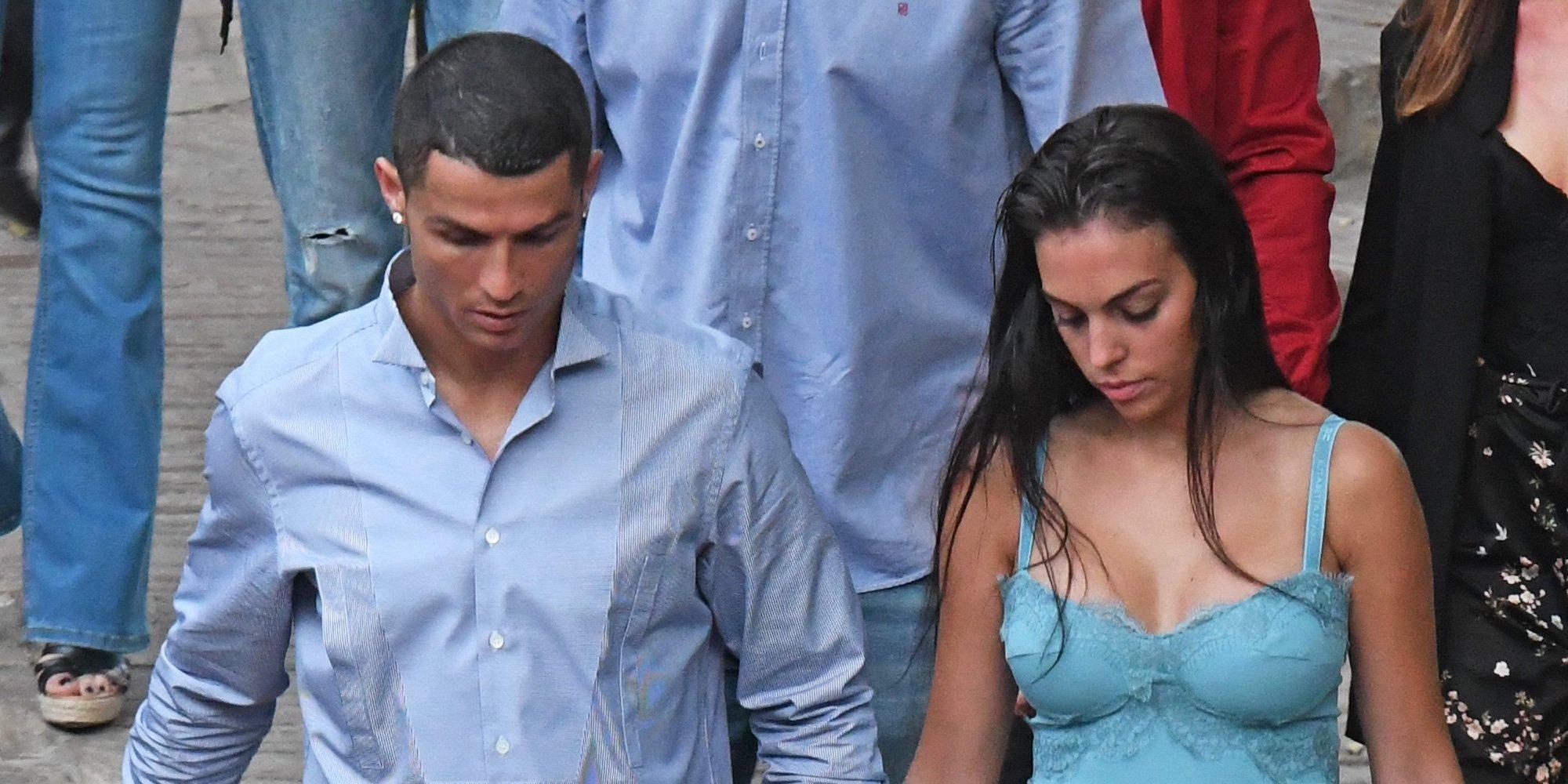 Cristiano Ronaldo y Georgina Rodríguez disfrutan de unas vacaciones familiares en Grecia