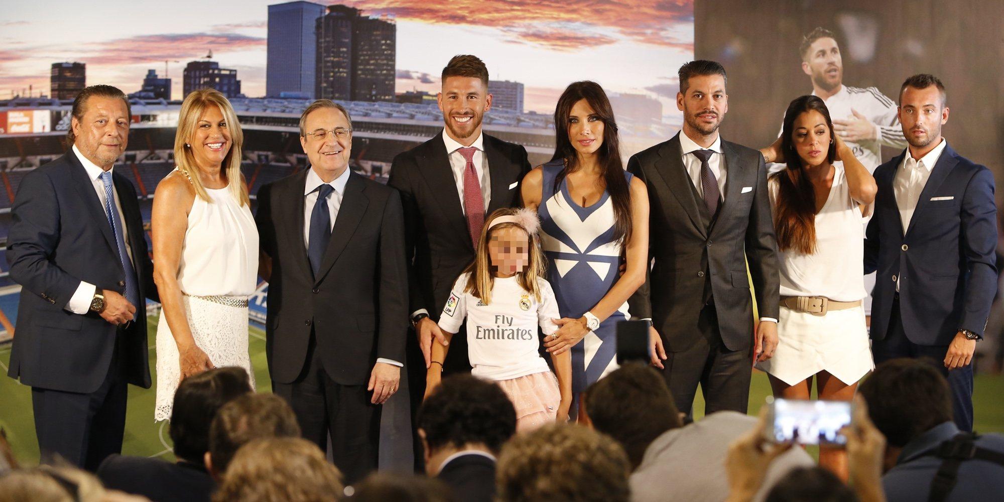Así es y así se lleva Sergio Ramos con sus hermanos René y Miriam Ramos