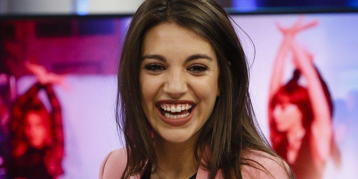 Ana Guerra, acusada de plagiar el logo de un grupo británico