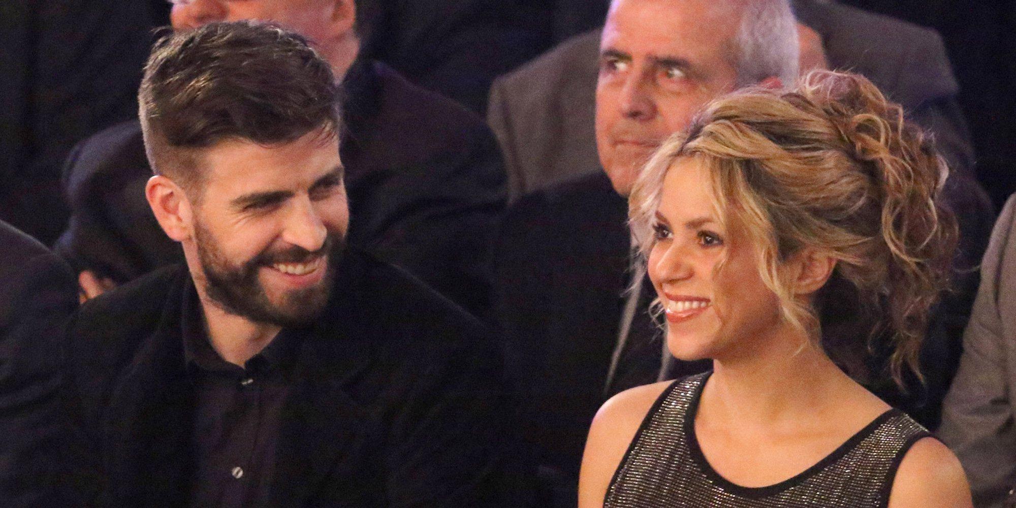Shakira y Gerard Piqué, muy acaramelados en la celebración de la primera parte de la gira de la cantante