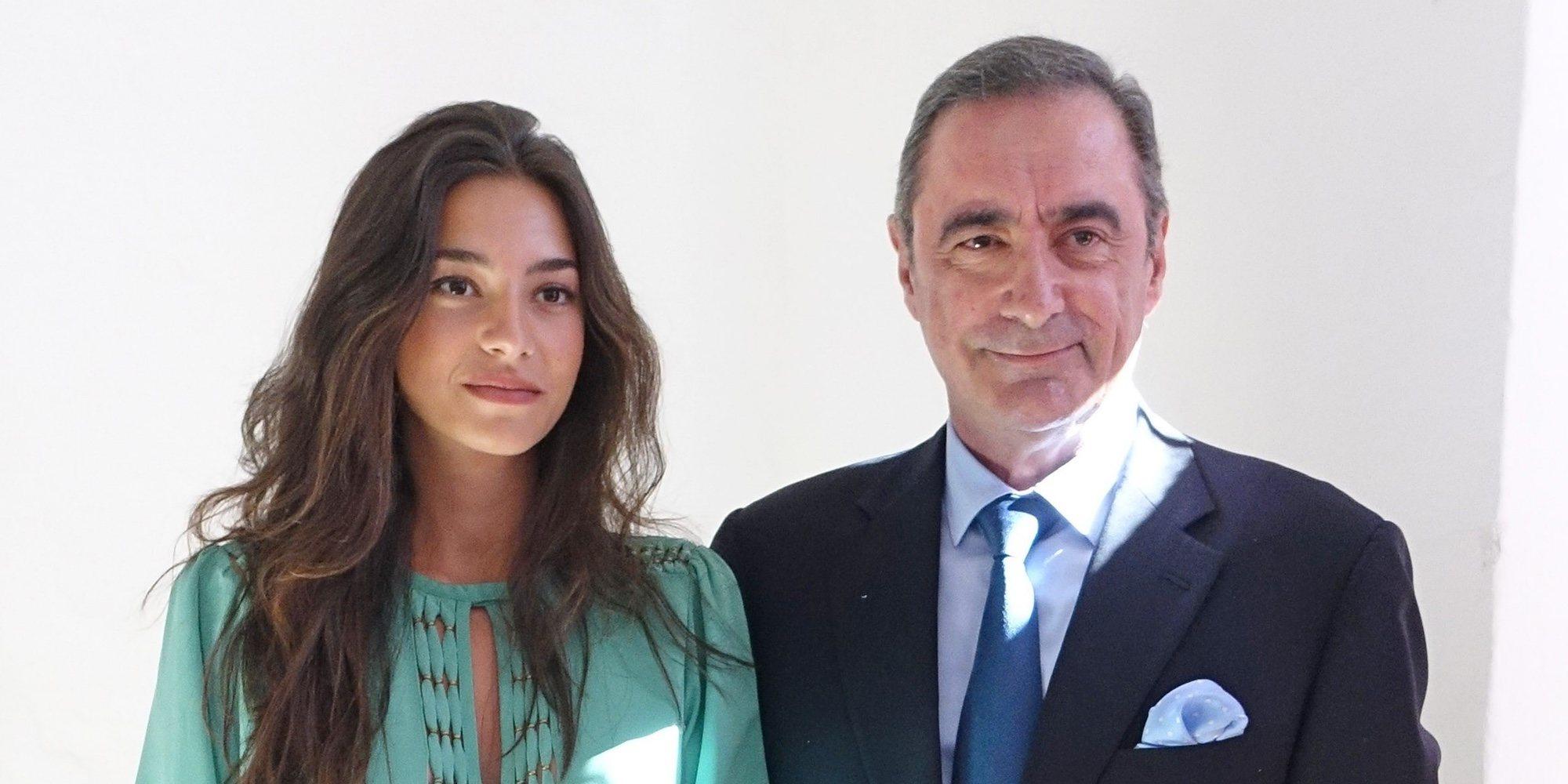 Carlos Herrera 'controla' a su hija Rocío Crusset con un dron