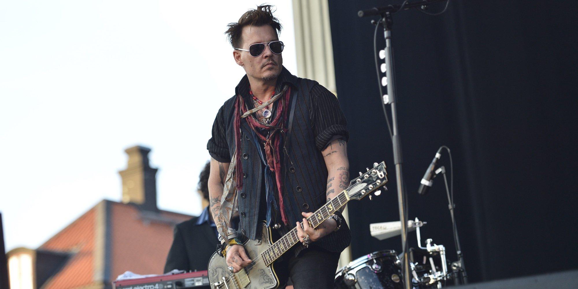 Johnny Depp, demandado por agredir a un trabajador durante el rodaje de una película