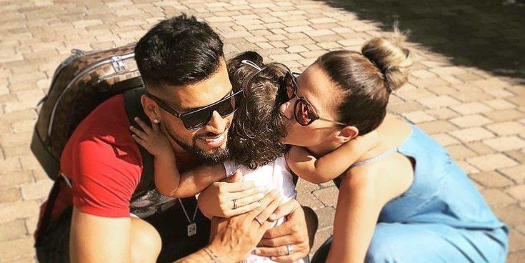 La hija de Tamara Gorro y Ezequiel Garay recibe el alta tras dos días ingresada