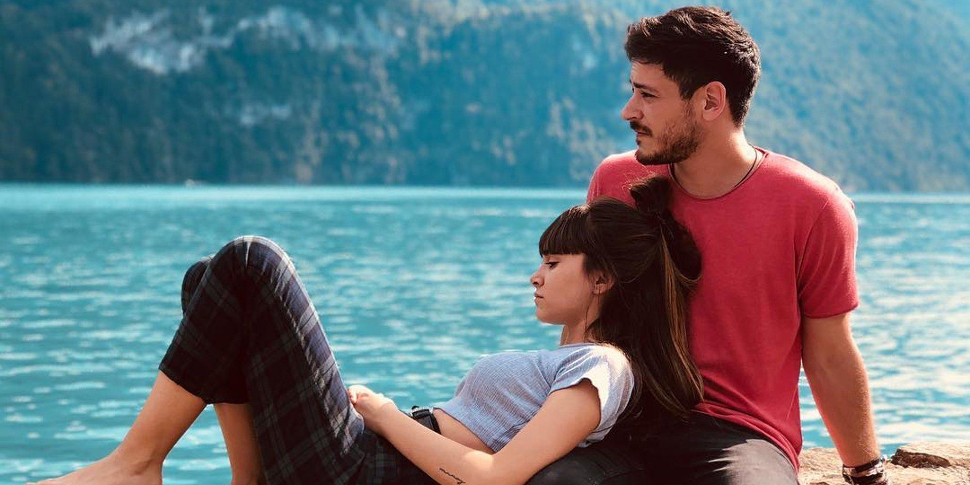 La escapada romántica de Cepeda y Aitana ('OT 2017') a Suiza