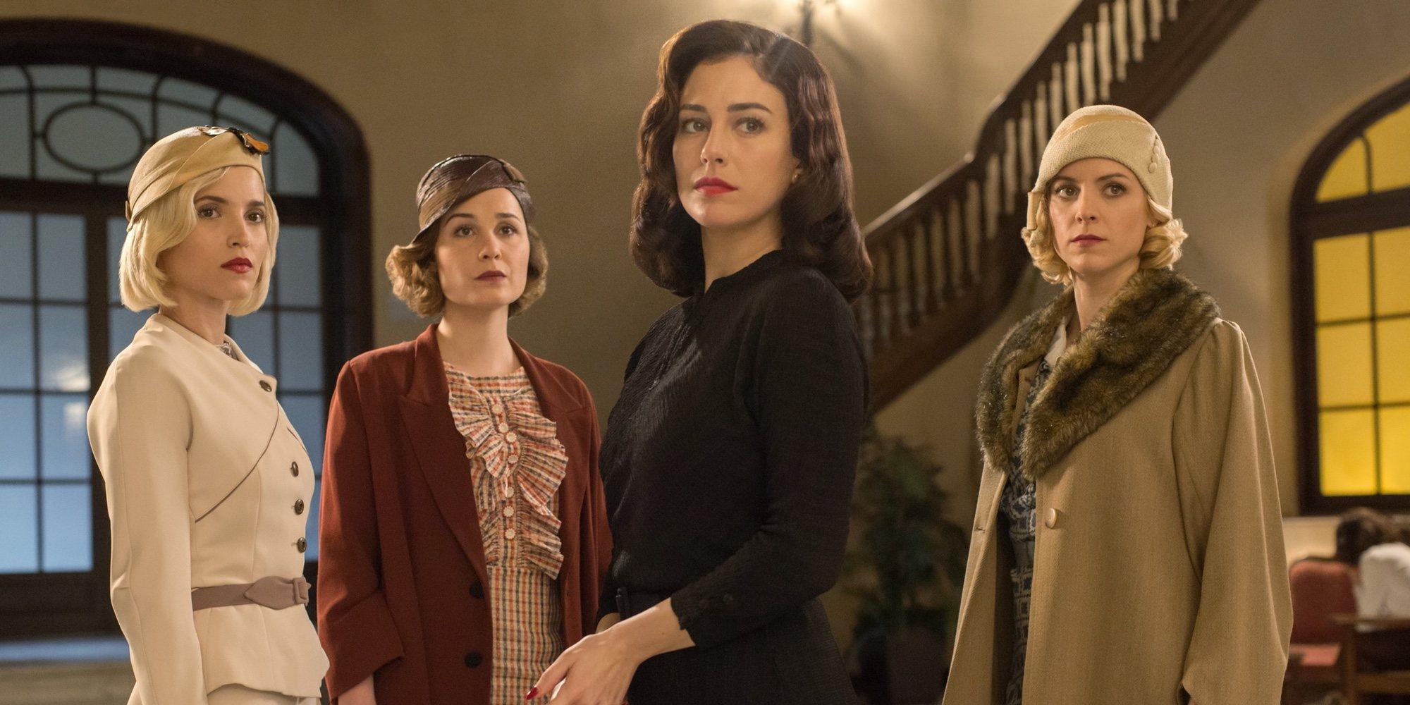 Primeras imágenes de la tercera temporada de 'Las chicas del cable' y anuncia de la fecha de estreno