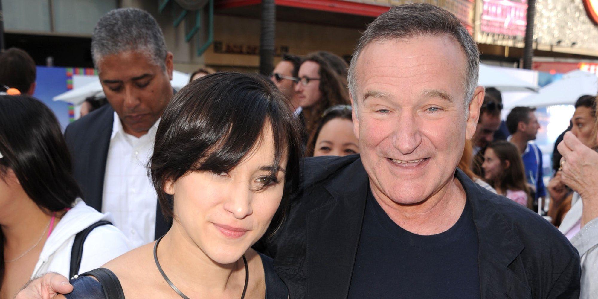 """El emotivo recuerdo de Zelda el día del cumpleaños de su padre Robin Williams: """"Otra vez es la época del año"""""""