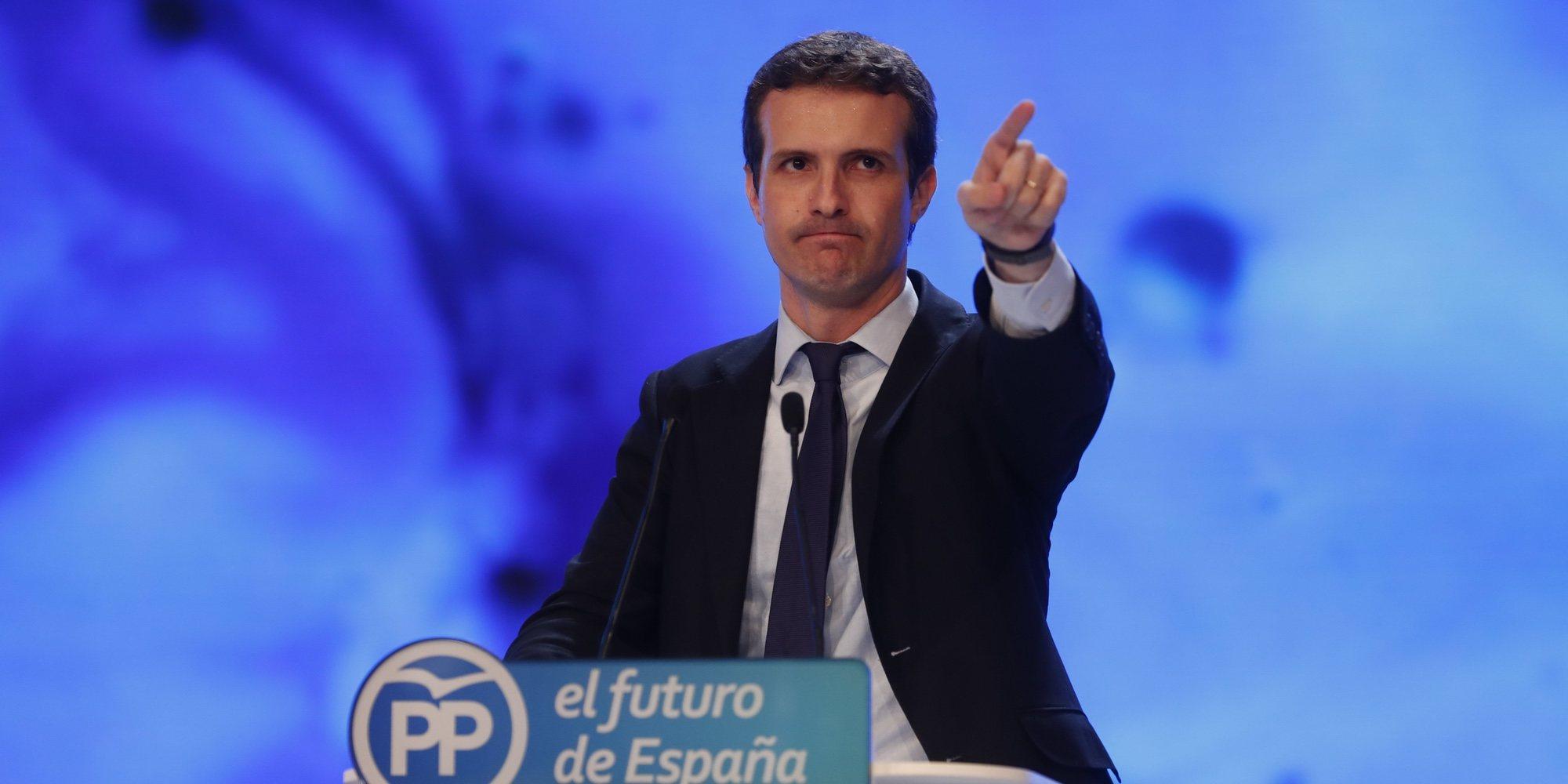 """El día en el que Pablo Casado llamó """"imbécil"""" y """"subnormal"""" a Javier Bardem"""