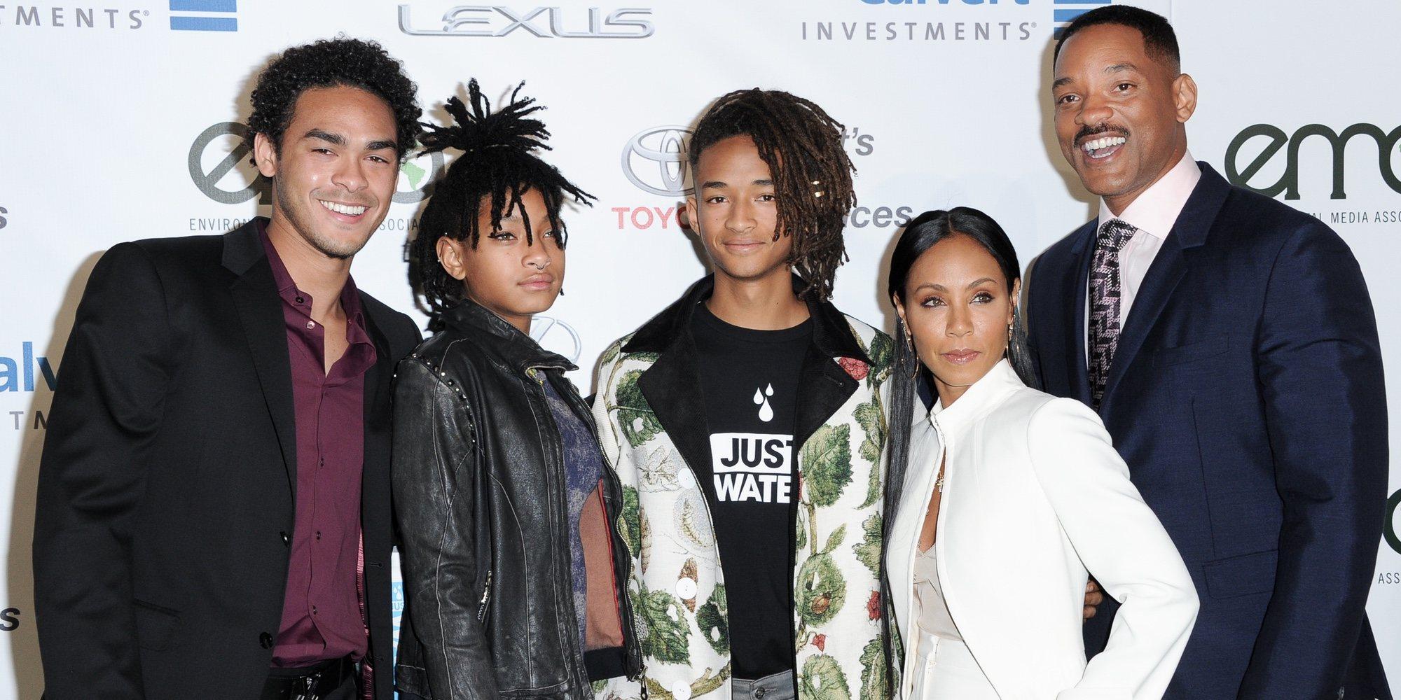 Así son y así se llevan Trey, Jaden y Willow Smith, tres hermanos enamorados de la música e hijos de Will Smith