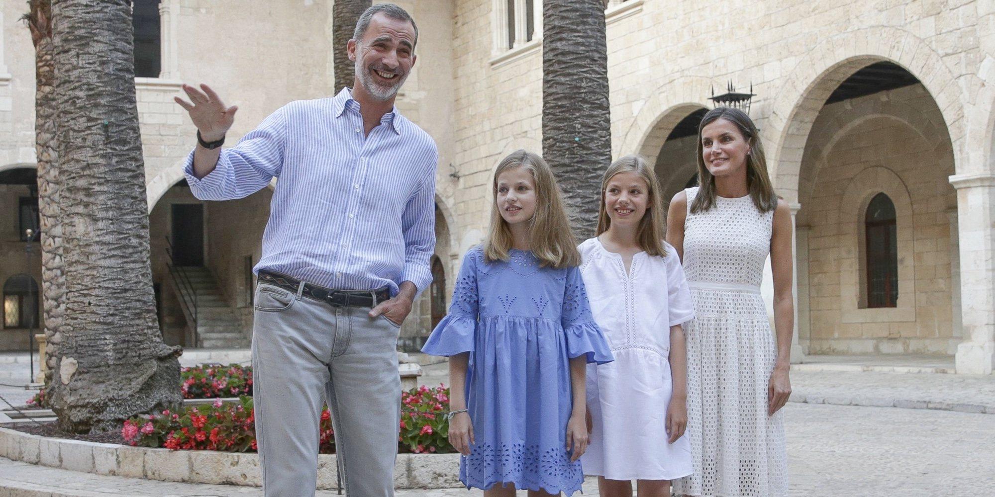 El protagonismo del Rey Felipe y la Princesa Leonor marcan el posado de verano de la Familia Real en Mallorca