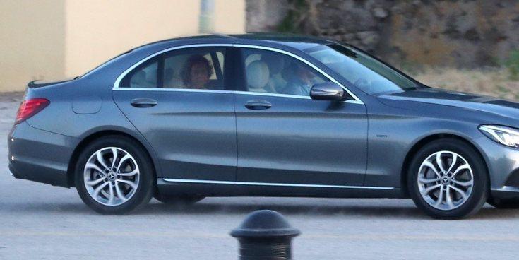 La Reina Sofía aparece de 'incógnito' en sus vacaciones más complicadas en Mallorca