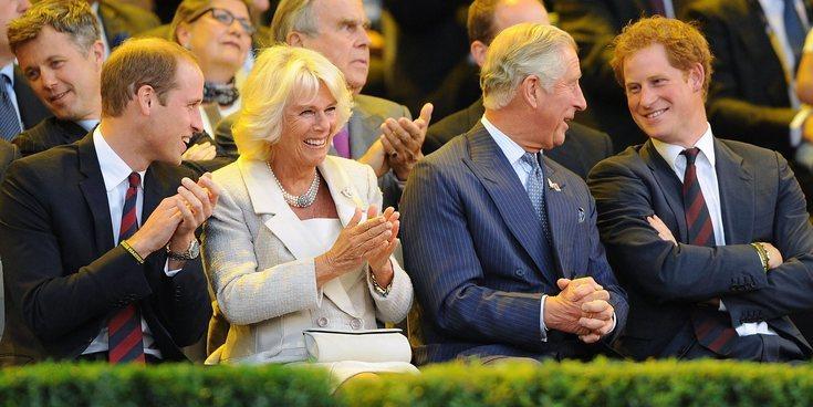 El Príncipe Harry habla por primera vez sobre Camilla Parker Bowles y su papel  tras la muerte de Lady Di