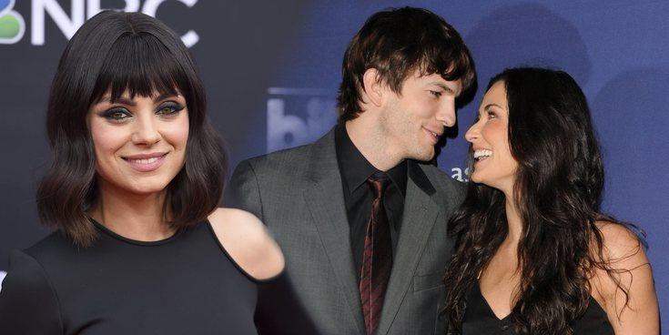 Mila Kunis defiende el matrimonio de Ashton Kutcher y Demi Moore