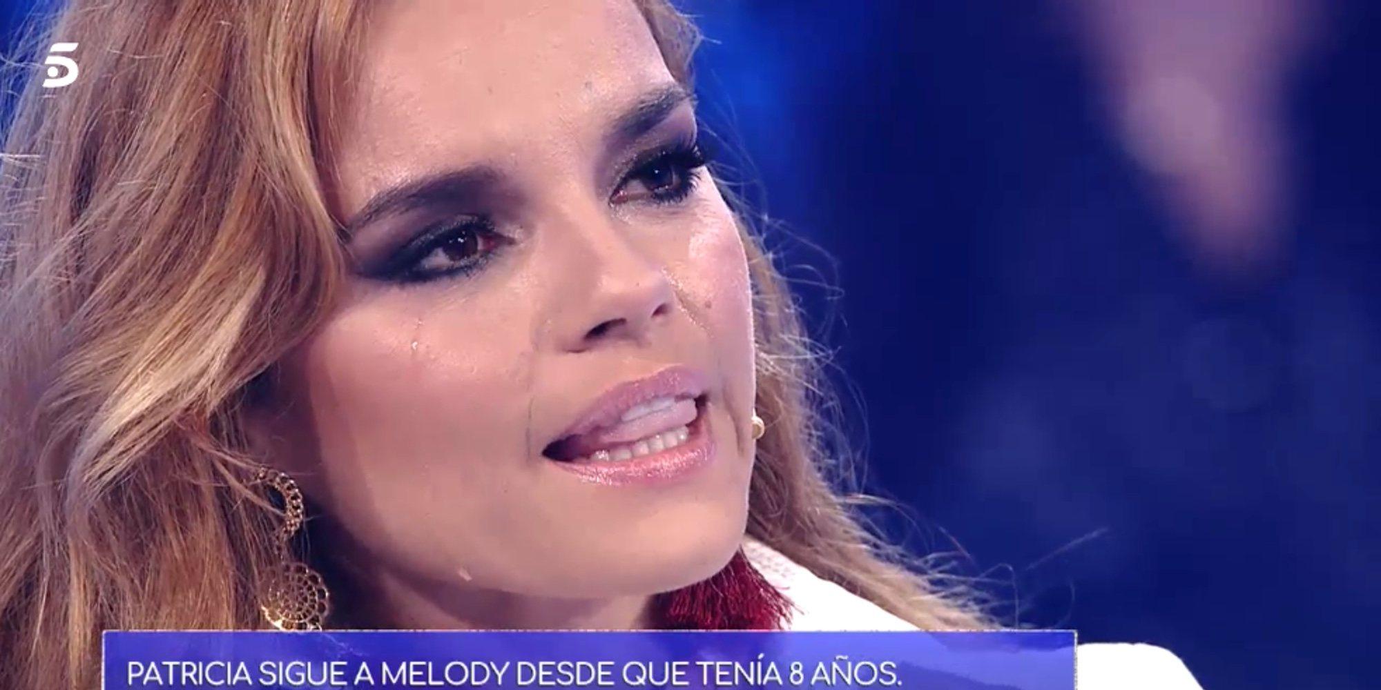 """Melody se emociona en 'Volverte a ver' gracias a una fan: """"Es un honor tener a una fan como tú"""""""
