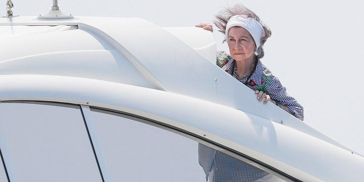 La Reina Sofía, el mejor apoyo para el Rey Felipe VI en la Copa del Rey de Vela