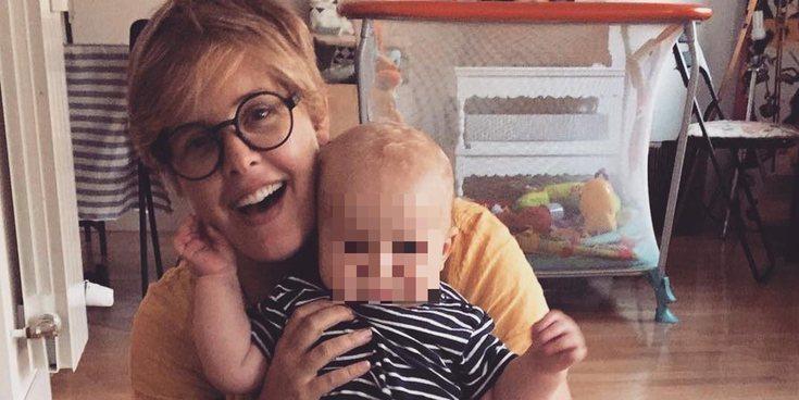 """Tania Llasera, preocupada porque su hijo Pepe Bowie no le llama """"mamá"""""""