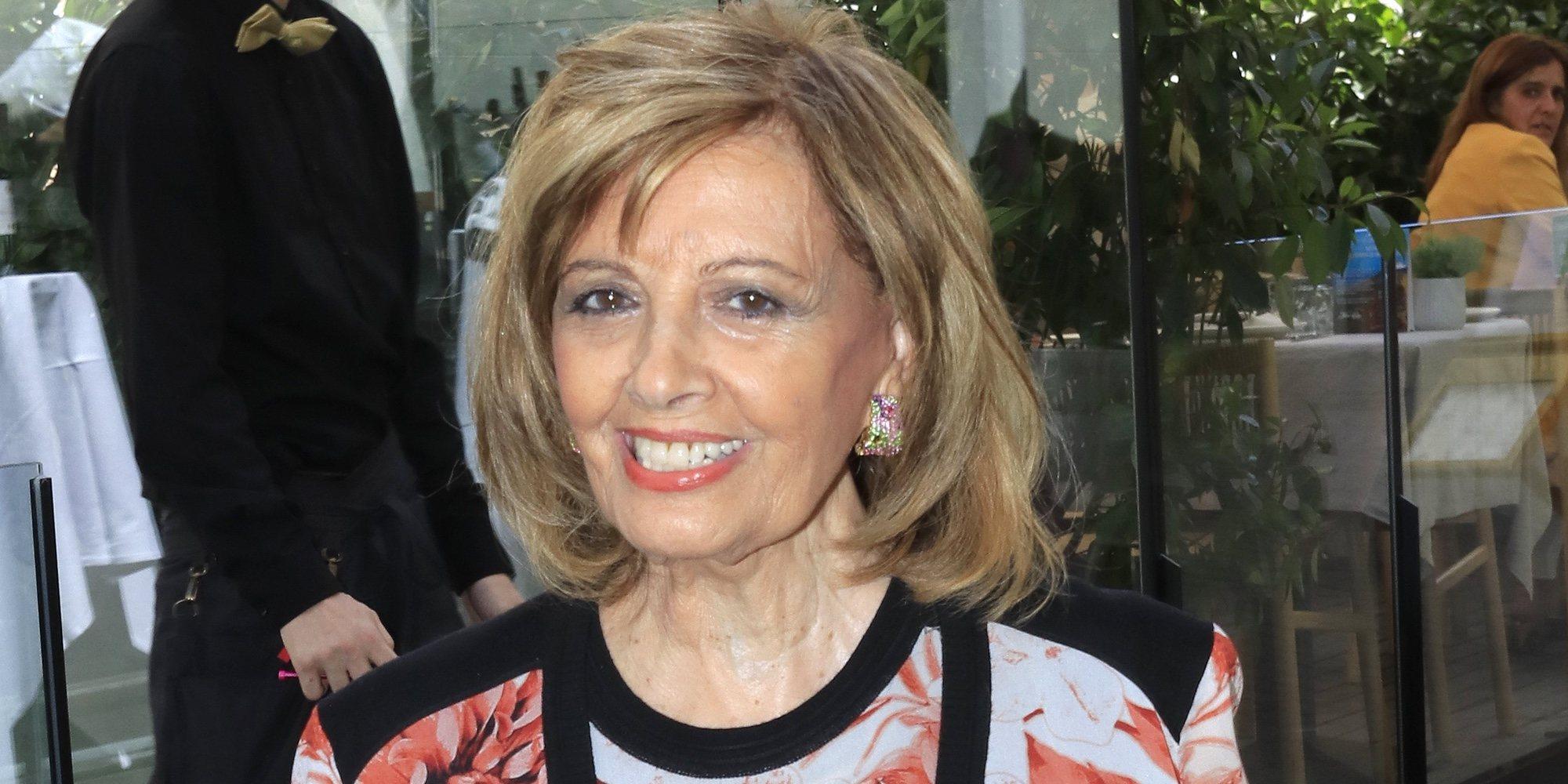 """María Teresa Campos: """"Nadie me habrá oído a mí decir que me quiero jubilar"""""""