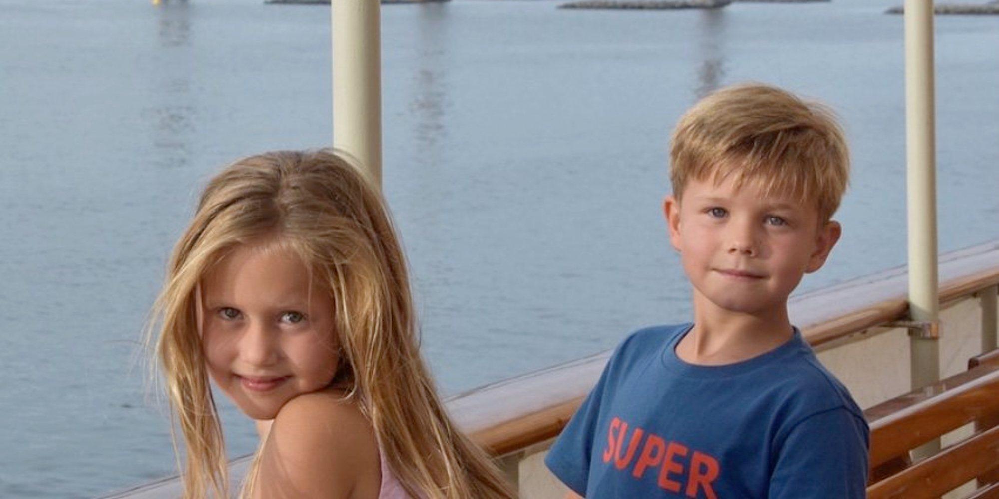 Las divertidas vacaciones de Federico y Mary de Dinamarca con sus hijos: Safari Park, mar y puestas de sol