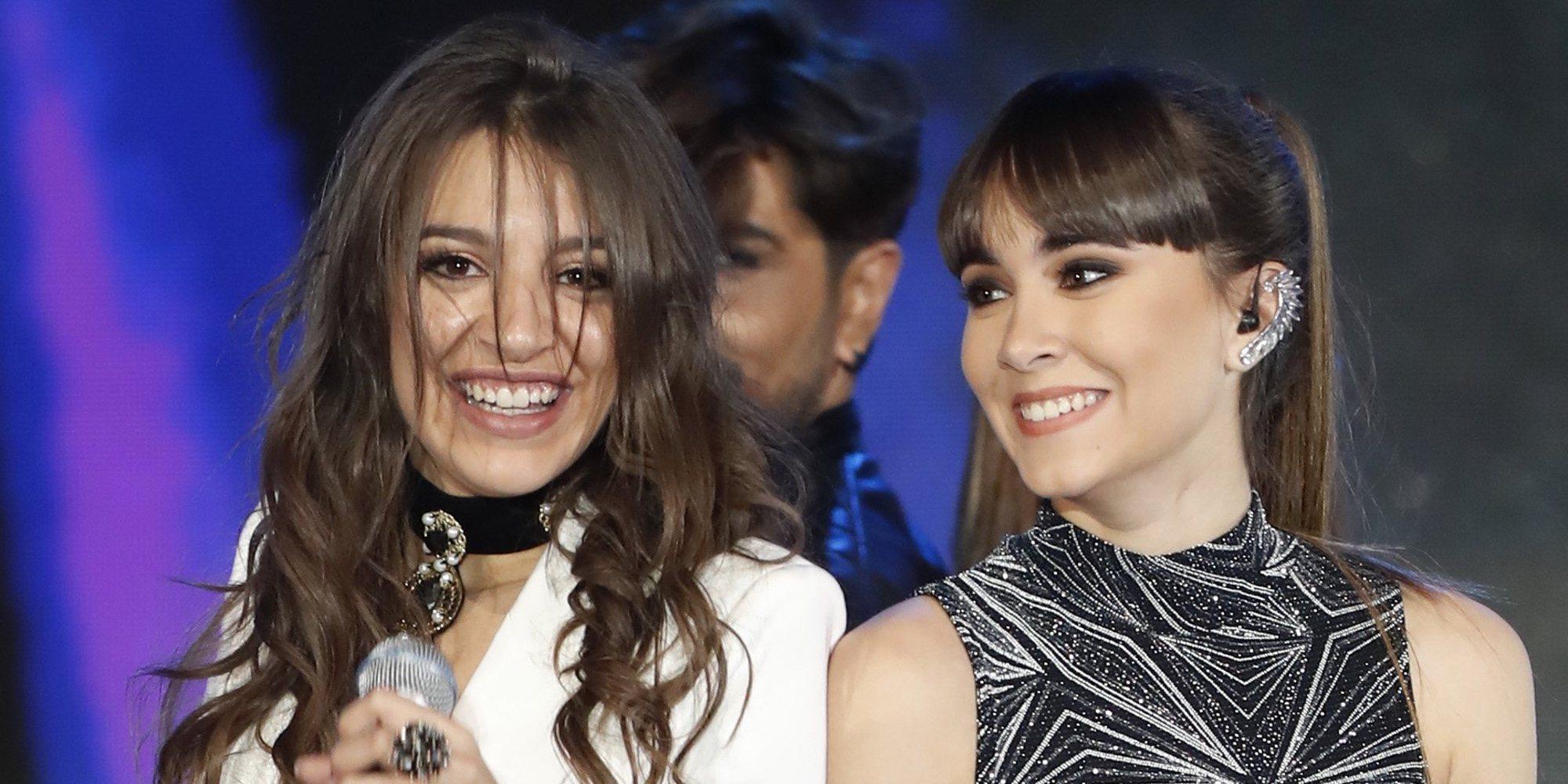 Aitana y Ana Guerra, obligadas a cancelar uno de sus conciertos por culpa de la lluvia