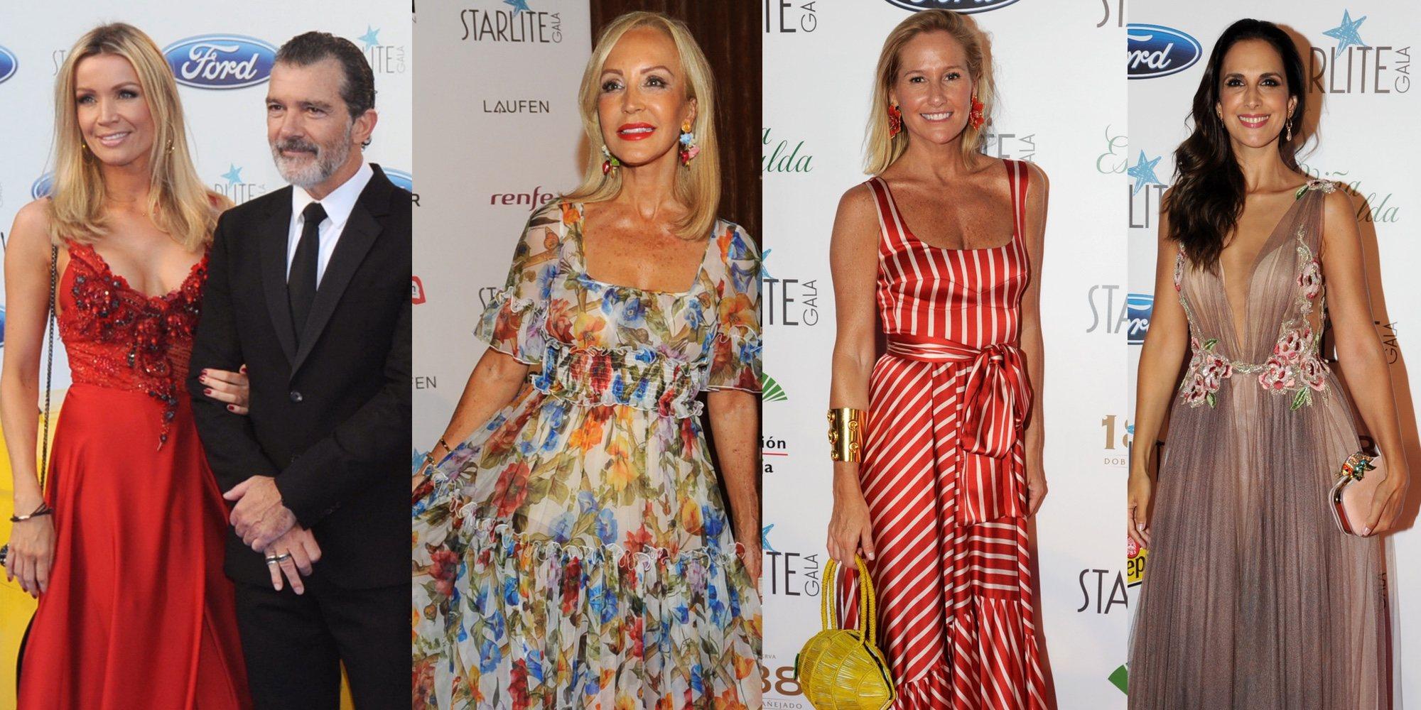 Antonio Banderas reúne a todos los 'Vips' para la Gala Starlite de Marbella 2018