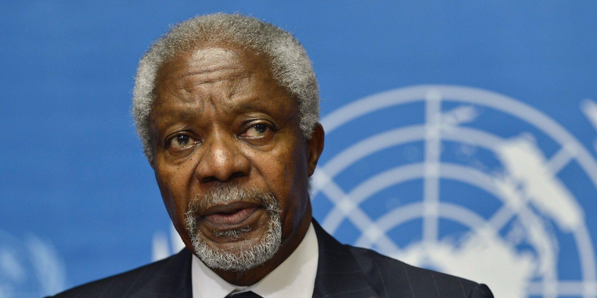 Muere Kofi Annan, exsecretario general de la ONU, a los 80 años