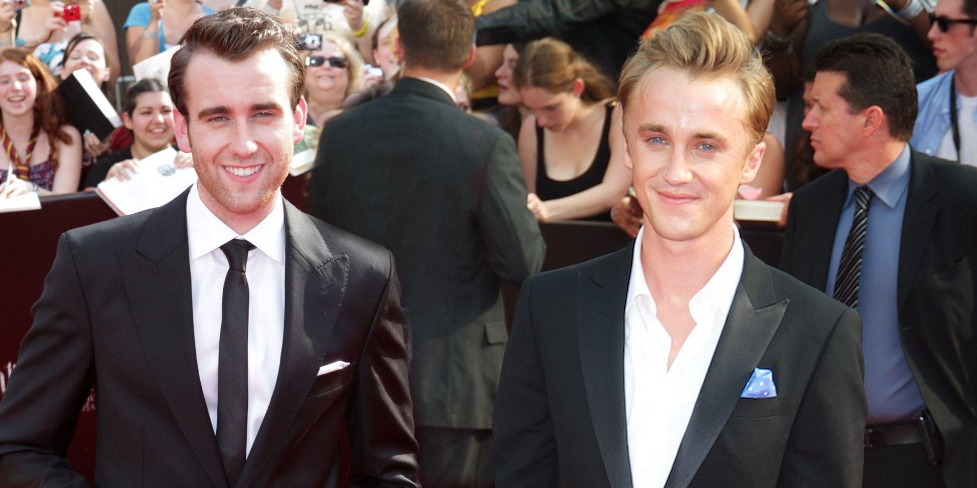 'Harry Potter': El encuentro entre Matthew Lewis y Tom Felton revive la enemistad entre Gryffindor y Slytherin